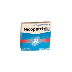 NICOPATCHLIB 21 MG/24 H 7 PATCHS TRANSDERMIQUES PIERRE FABRE