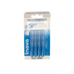 RECHARGE BROSSETTES MONO COMPACT X4  ETROITS 0.8MM INAVA