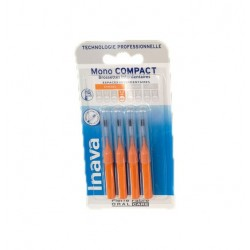 RECHARGE BROSSETTES MONO COMPACT X4  ETROITS 1.2mm INAVA