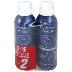 MOUSSE A RASER  HOMME LOT 2 X 200 ML AVENE MEN