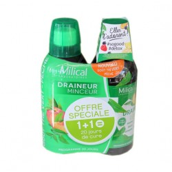 DRAINEUR MINCEUR PECHE LOT DE 2 X 500ML MILICAL