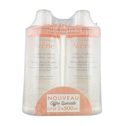 LOTION MICELLAIRE DEMAQUILLANTE ANTI POLLUTION 2 X 500ML AVENE