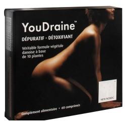 YOUDRAINE DEPURATIF DETOXIFIANT 60 COMPRIMES NEW NORDIC