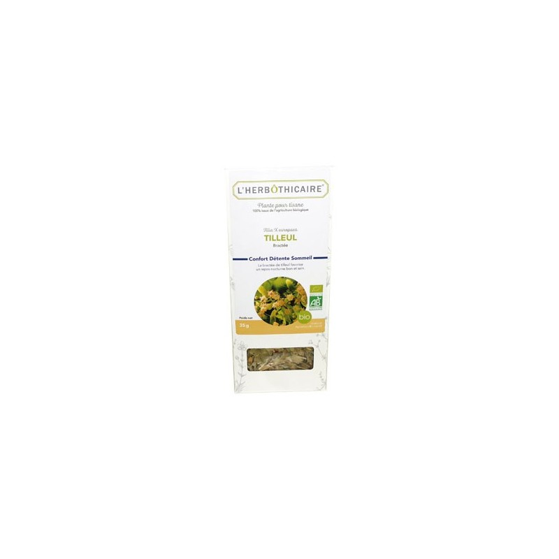 INFUSION TILLEUL BIO  BRACTEE 35G L HERBOTHICAIRE