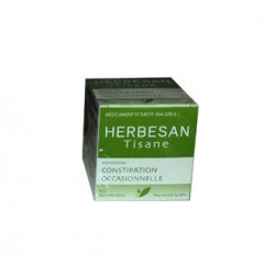 TISANE CONSTIPATION OCCASIONNELLE 10 SACHETS DOSE HERBESAN