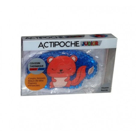 ACTIPOCHE COUSSIN THERMIQUE CHAUD FROID JUNIOR Forme Chat COOPER