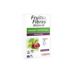 FRUITS & FIBRES REGULAR TRANSIT INTESTINAL 30 GELULES ORTIS