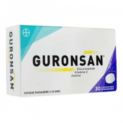 GURONSAN 30 COMPRIMES EFFERVESCENTS BAYER