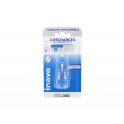 RECHARGE BROSSETTES INTERDENTAIRES TRIO COMPACT 3 ETROITS 0.8MM ISO 1 INAVA