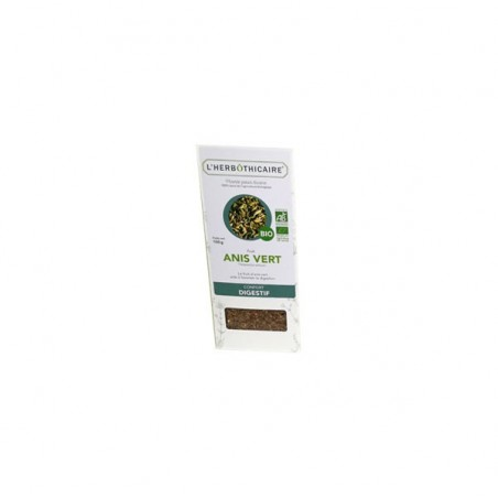 INFUSION ANIS VERT BIO 100G L HERBOTHICAIRE
