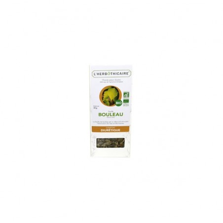 INFUSION BOULEAU BIO 30G L HERBOTHICAIRE