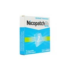 NICOPATCHLIB 7 MG/24 H 7 PATCHS TRANSDERMIQUES PIERRE FABRE