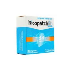 NICOPATCHLIB 14 MG/24 H 7 PATCHS TRANSDERMIQUES PIERRE FABRE