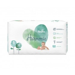 HARMONIE COUCHES Taille 1 (2-5 KG) 35 COUCHES PAMPERS