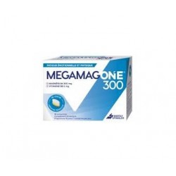 MEGAMAG ONE MAGNESIUM 300MG VITAMINE B6 2MG 45 COMPRIMES MAYOLY SPINDLER