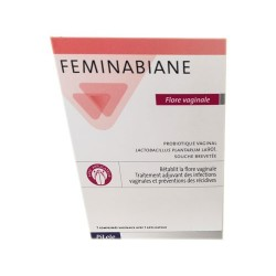 FEMINABIANE FLORE VAGINALE  7 COMPRIMES PILEJE
