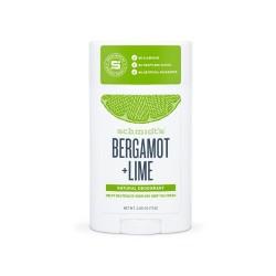 DEODORANT NATUREL BERGAMOTE + LIME 75g SCHMIDT'S