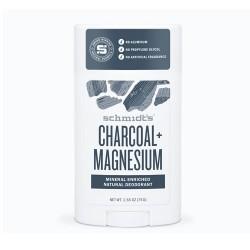 DEODORANT NATUREL CHARCOAL + MAGNESIUM 75g SCHMIDT'S