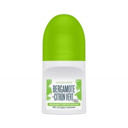 DEODORANT NATUREL BERGAMOTE + LIME ROLL ON 50ml SCHMIDT'S