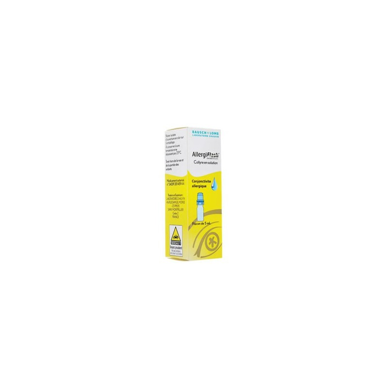 ALLERGIFLASH 0.05% COLLYRE 5ML BAUSCH & LOMB