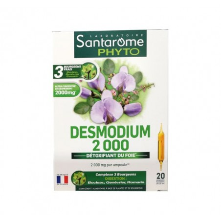 DESMODIUM 2000 BIO 20 AMPOULES SANTAROME