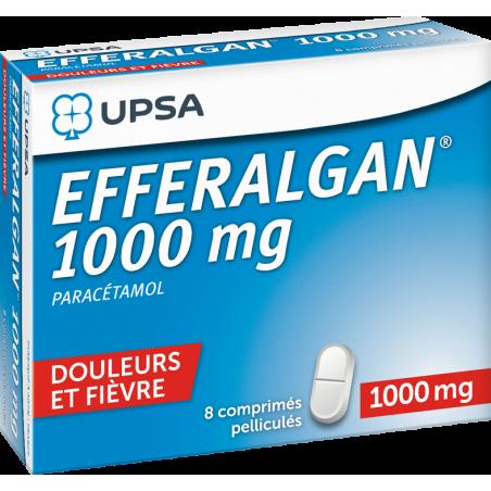 EFFERALGAN 1000 MG COMPRIME UPSA