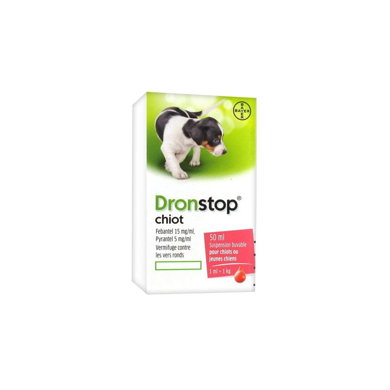 DRONTAL CHIOT VERMIFUGE 50ML BAYER