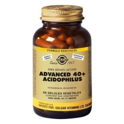 ADVANCED 40+ ADIDOPHILUS SOLGAR