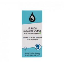 RESPIRATOIRE SIROP MAUX DE GORGE BIO 250ML LCA