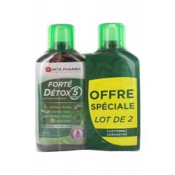 FORTE DETOX 5 ORGANES 2 X 500ML FORTE PHARMA