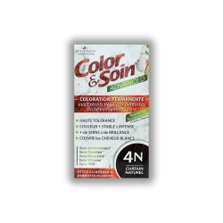 COLOR & SOIN ADVANCED 4N CHATAIN NATUREL 130ML LES 3 CHENES