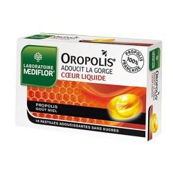 OROPOLIS® COEUR LIQUIDE PROPOLIS MIEL X16 PASTILLES MEDIFLOR