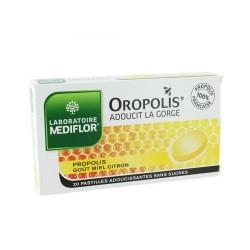 OROPOLIS® PROPOLIS MIEL CITRON X20 PASTILLES MEDIFLOR