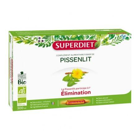 PISSENLIT ÉLIMINATION BIO 20 AMPOULES SUPER DIET
