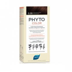 PHYTOCOLOR COLORATION PERMANENTE CHATAIN CLAIR CHOCOLAT 5.35  PHYTO