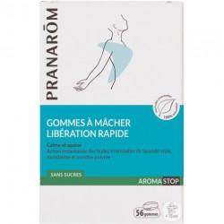 AROMASTOP GOMMES à MACHER LIBERATION RAPIDE X56 PRANAROM