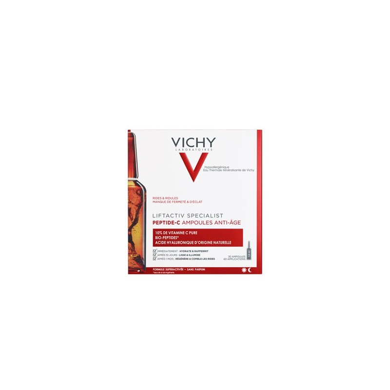 LIFTACTIV SPECIALIST PEPTIDE C AMPOULES ANTI-AGE X 30 VICHY