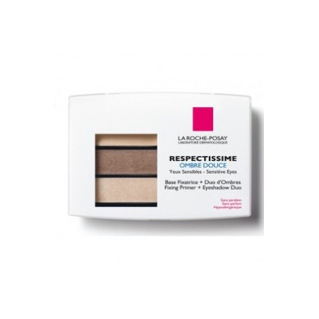 RESPECTISSIME OMBRE A PAUPIERES DOUCE 02 SMOCKY BRUN LA ROCHE POSAY