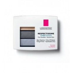 OMBRE A PAUPIERE DOUCE RESPECTISSIME 01 SMOCKY GRIS LAROCHE POSAY
