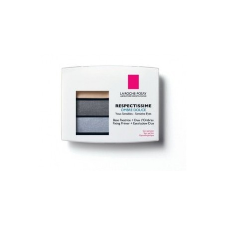 RESPECTISSIME OMBRE A PAUPIERE DOUCE 01 SMOCKY GRIS LA ROCHE POSAY