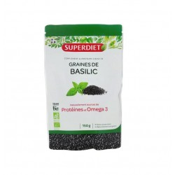 BASILIC GRAINES BIO 150G SUPER DIET