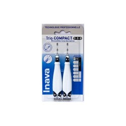 RECHARGE BROSSETTES INTERDENTAIRES TRIO COMPACT  0.6mm ISO0  INAVA
