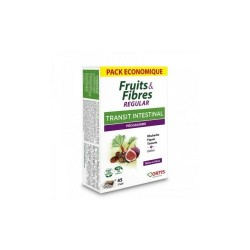 FRUITS & FIBRES REGULAR TRANSIT INTESTINAL 45 cubes à mâcher ORTIS