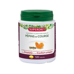 PEPINS DE COURGE 120 CAPSULES SUPER DIET