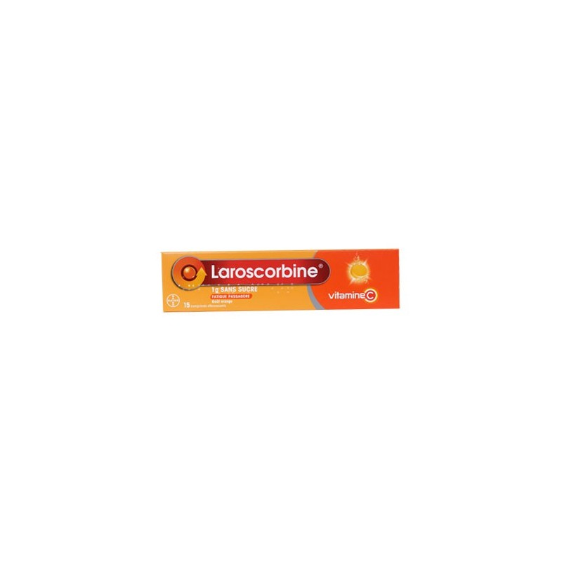LAROSCORBINE 1 G EFFERVESCENT SANS SUCRE BAYER