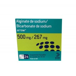 ALGINATE DE SODIUM - BICARBONATE DE SODIUM 24 X 10ML ARROW GENERIQUES