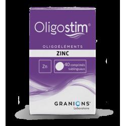 OLIGOSTIM ZINC Zn 40 comprimes GRANIONS