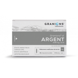 GRANIONS D' ARGENT 0.64mg/2ml, solution buvable
