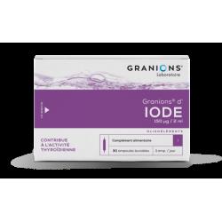 GRANIONS D' IODE 150 μg 30 ampoules