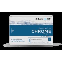 GRANIONS DE CHROME 200 µg 30 ampoules